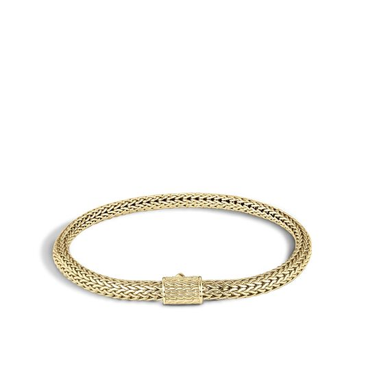 Classic Chain 5MM Bracelet in 18K Gold , , large