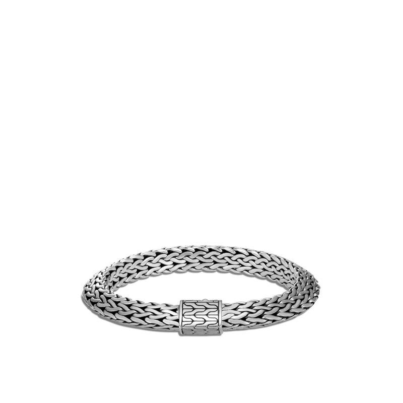 Tiga Classic Chain 9.5MM Bracelet in Silver, , large