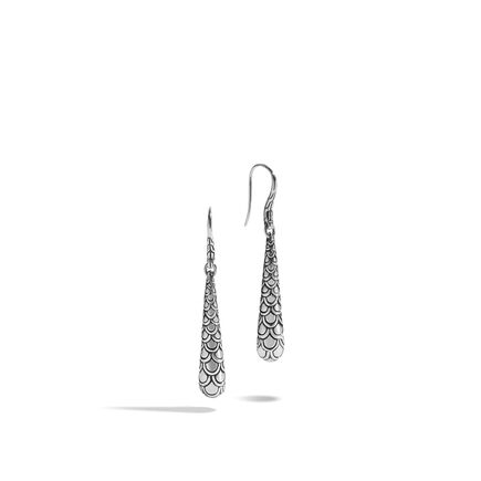 Legends Naga Drop Earring in Silver