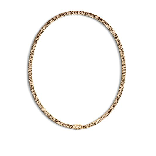 Classic Chain 5MM Necklace in 18K Gold, , large