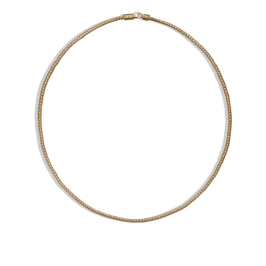 Classic Chain 2.5MM Necklace in 18K Gold, , large