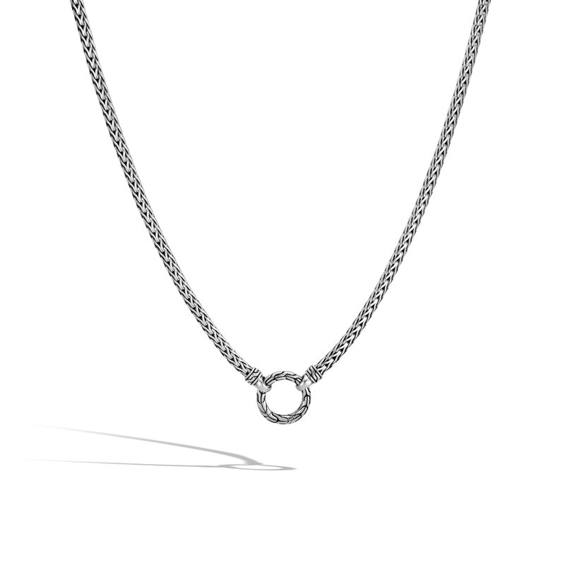 Classic Chain 3.5MM Amulet Connector Necklace, , large