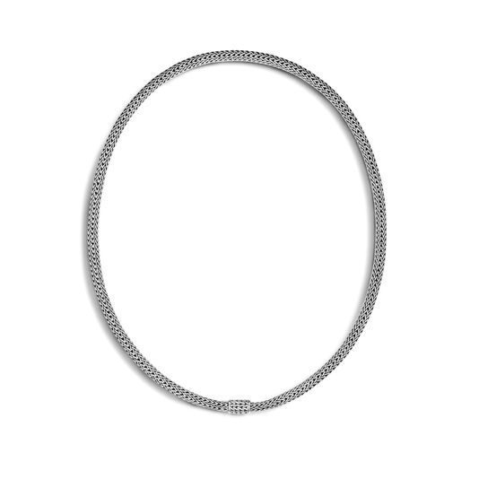 Classic Chain 5MM Necklace in Silver, , large