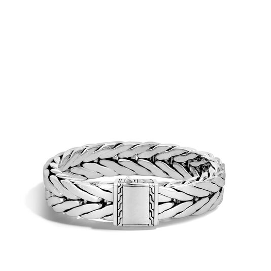 Modern Chain 16MM Bracelet in Silver, , large