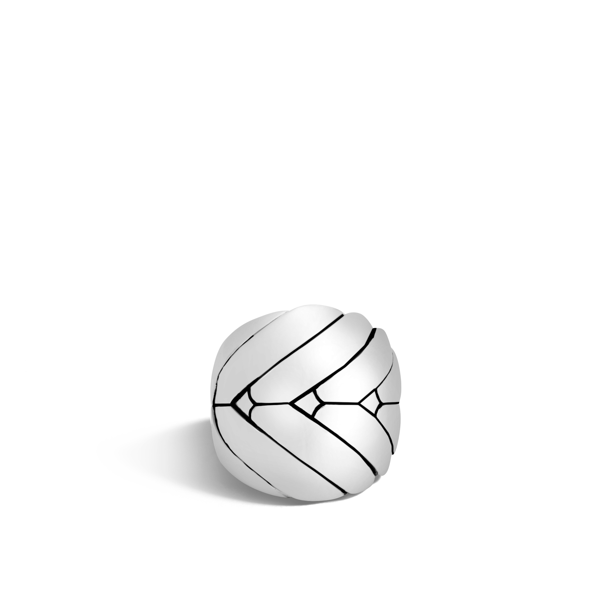 Modern Chain 24MM Ring in Silver, , large