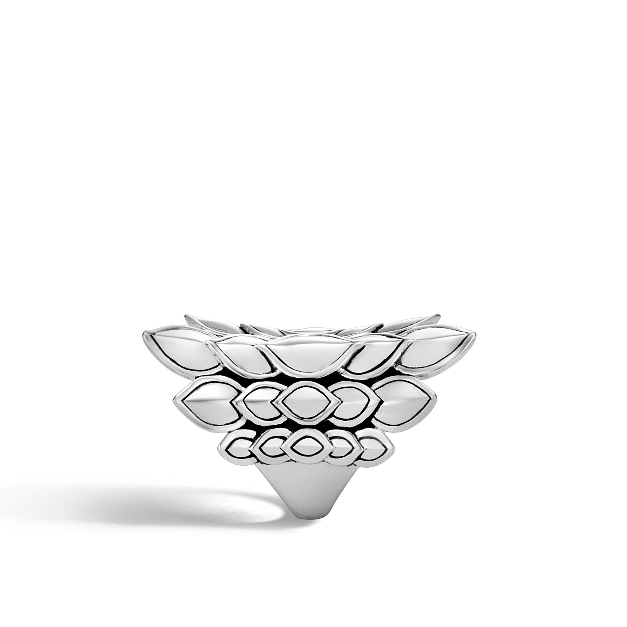 Legends Naga Saddle Ring in Silver, , large