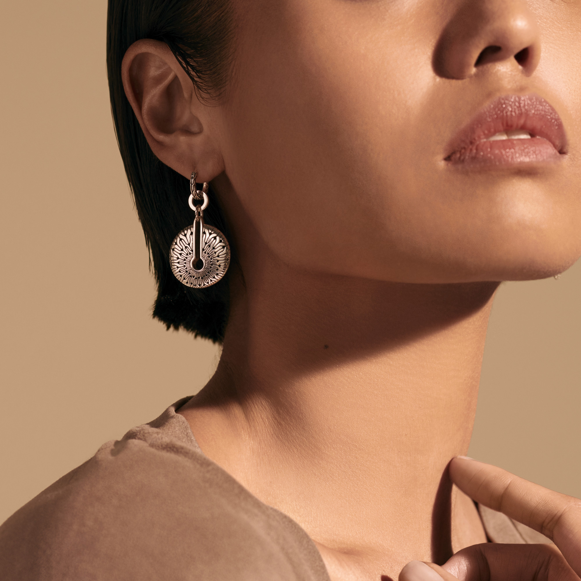 Radial Transformable Drop Earring , , modelview