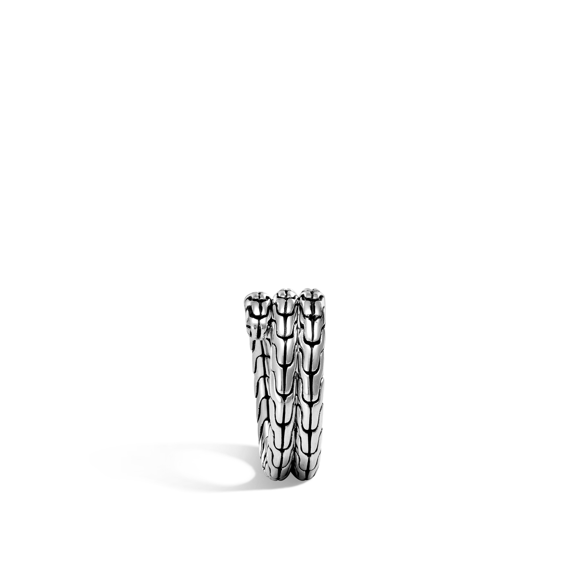 Classic Chain Double Coil Ring, , large