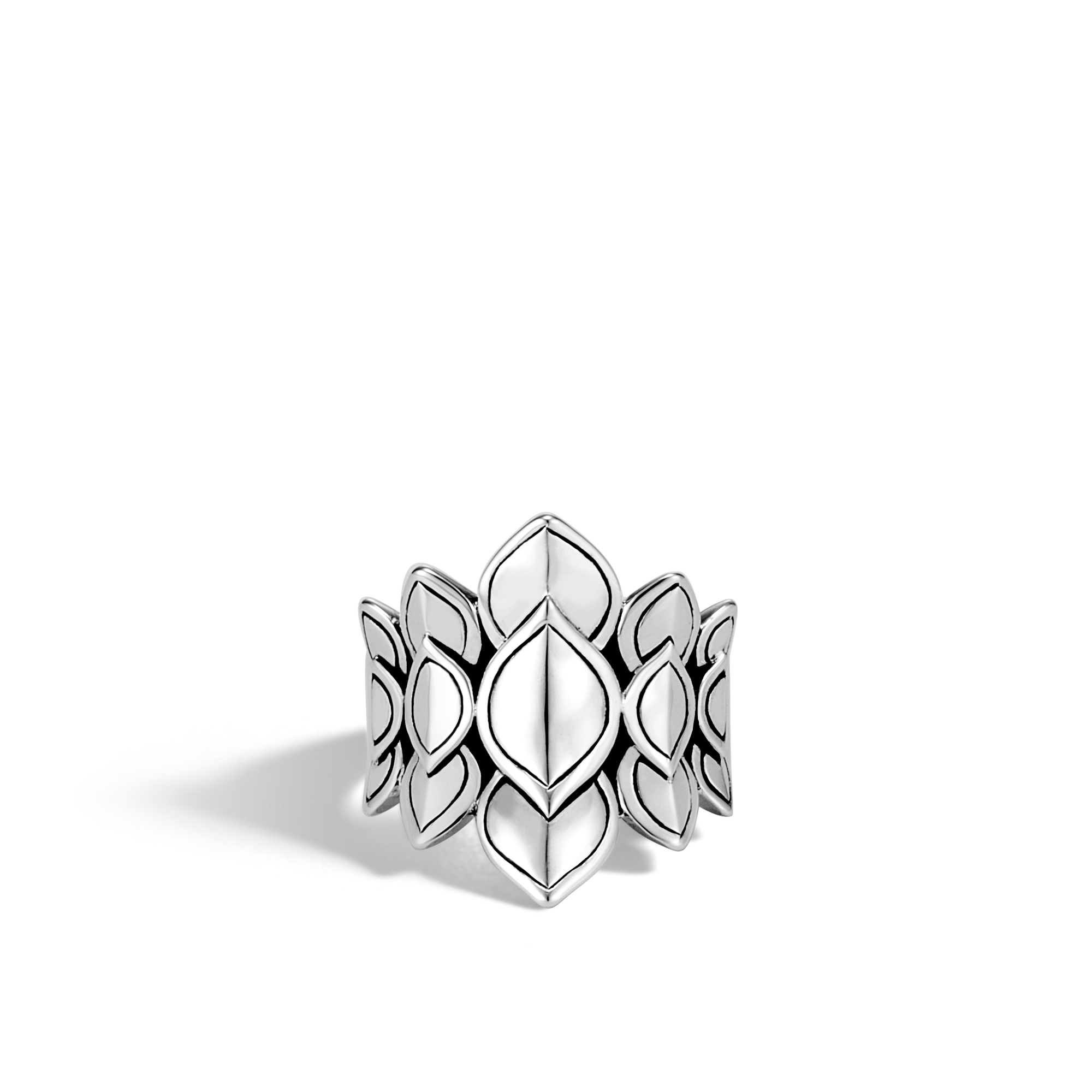 Legends Naga Saddle Ring in Silver, , large
