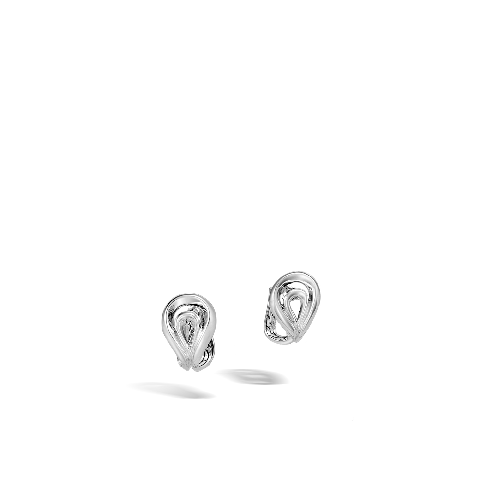 Asli Classic Chain Link Drop Earring in Silver, , large