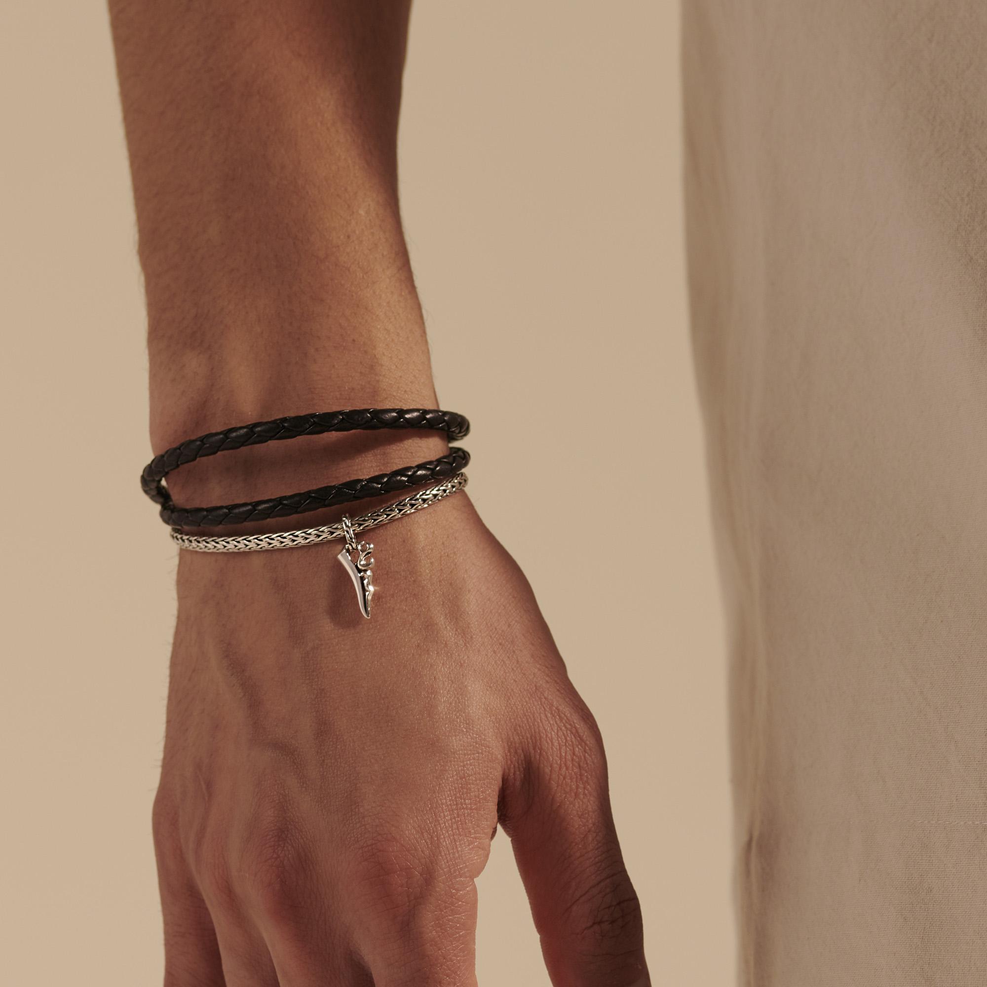 Keris Dagger Hybrid Triple Wrap Bracelet, , modelview