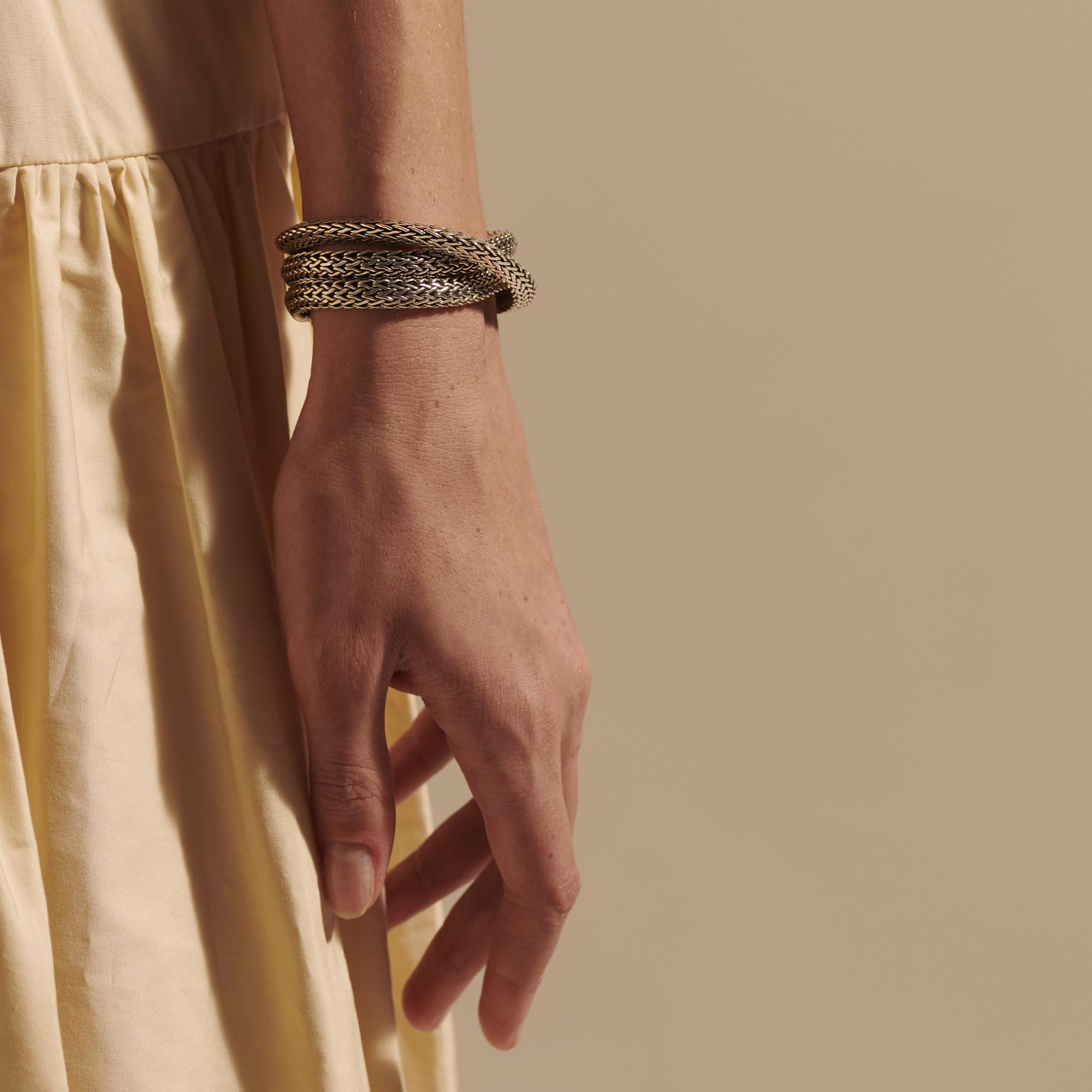 Tiga Triple Row Bracelet, , modelview