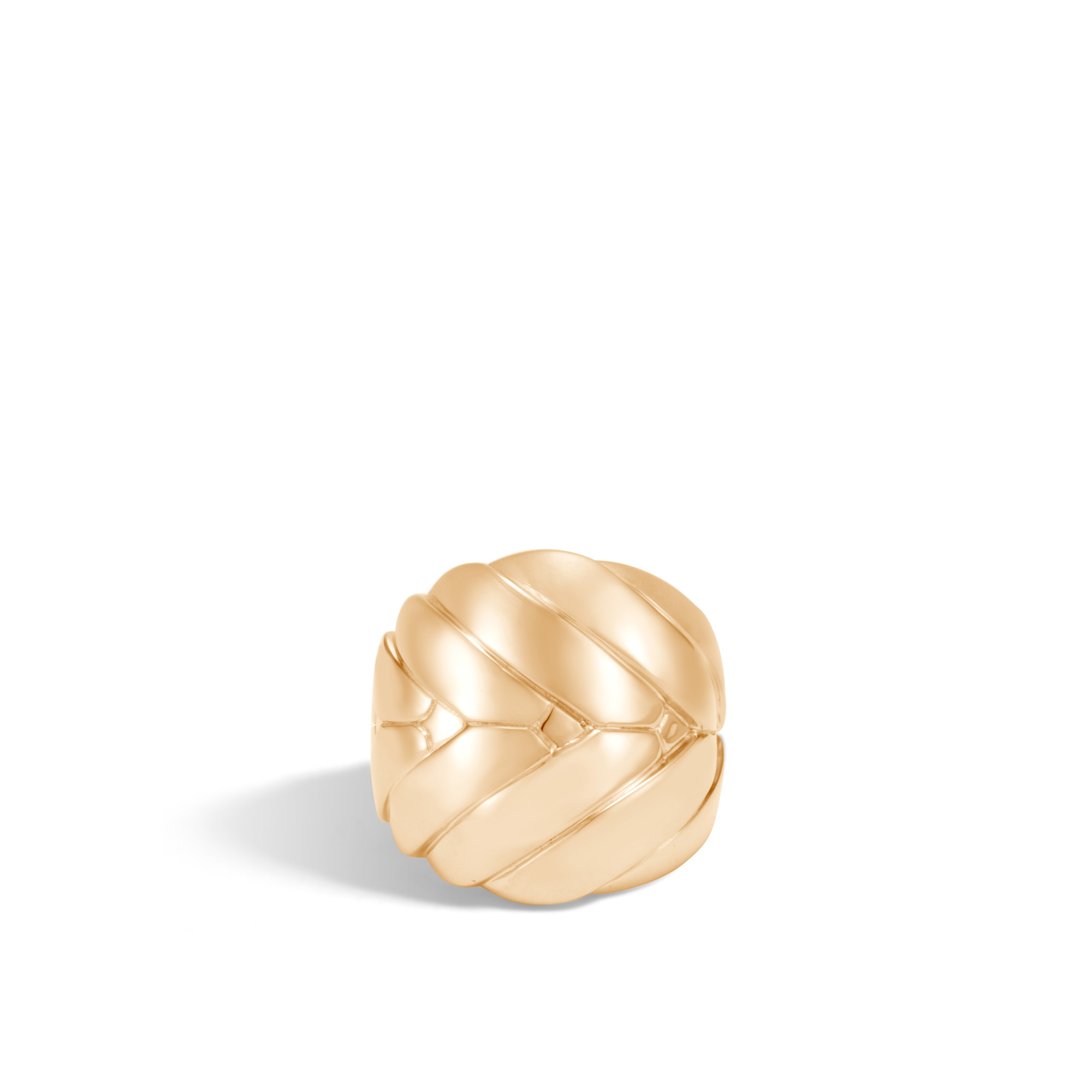 Modern Chain 24MM Ring in 18K Gold, , large