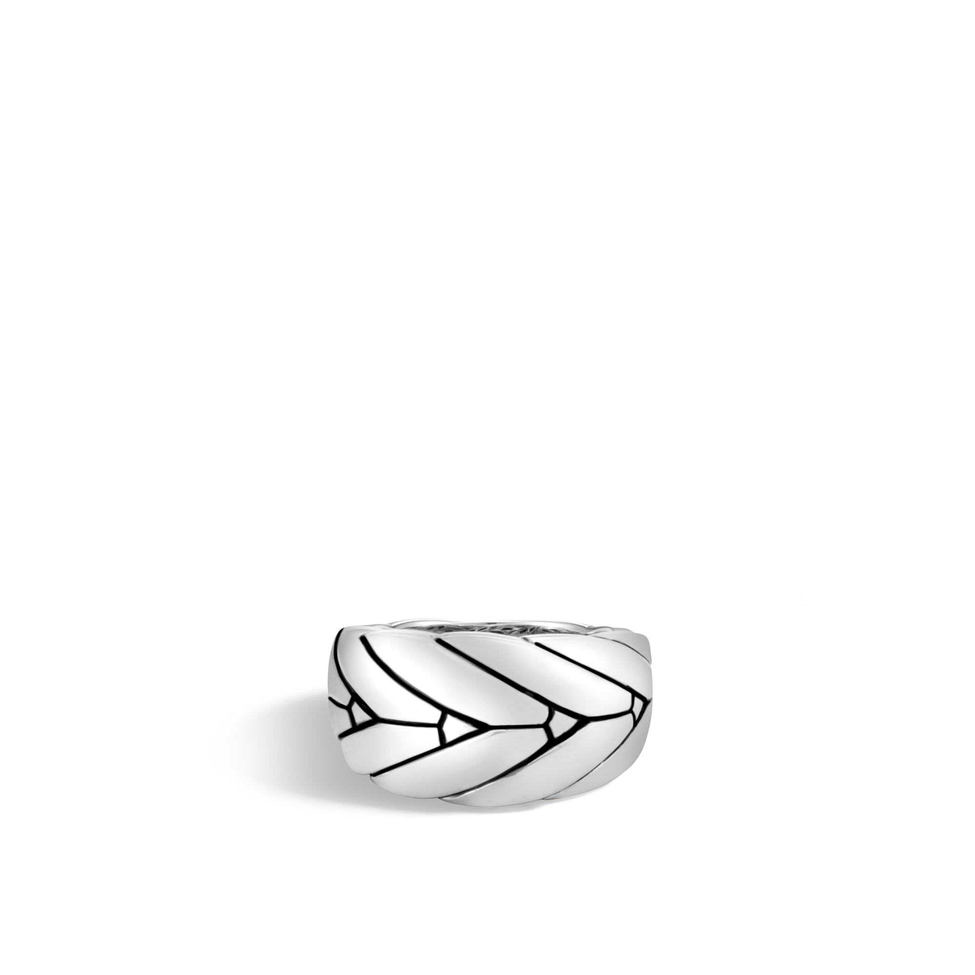 Modern Chain 12.5MM Ring in Silver, , large