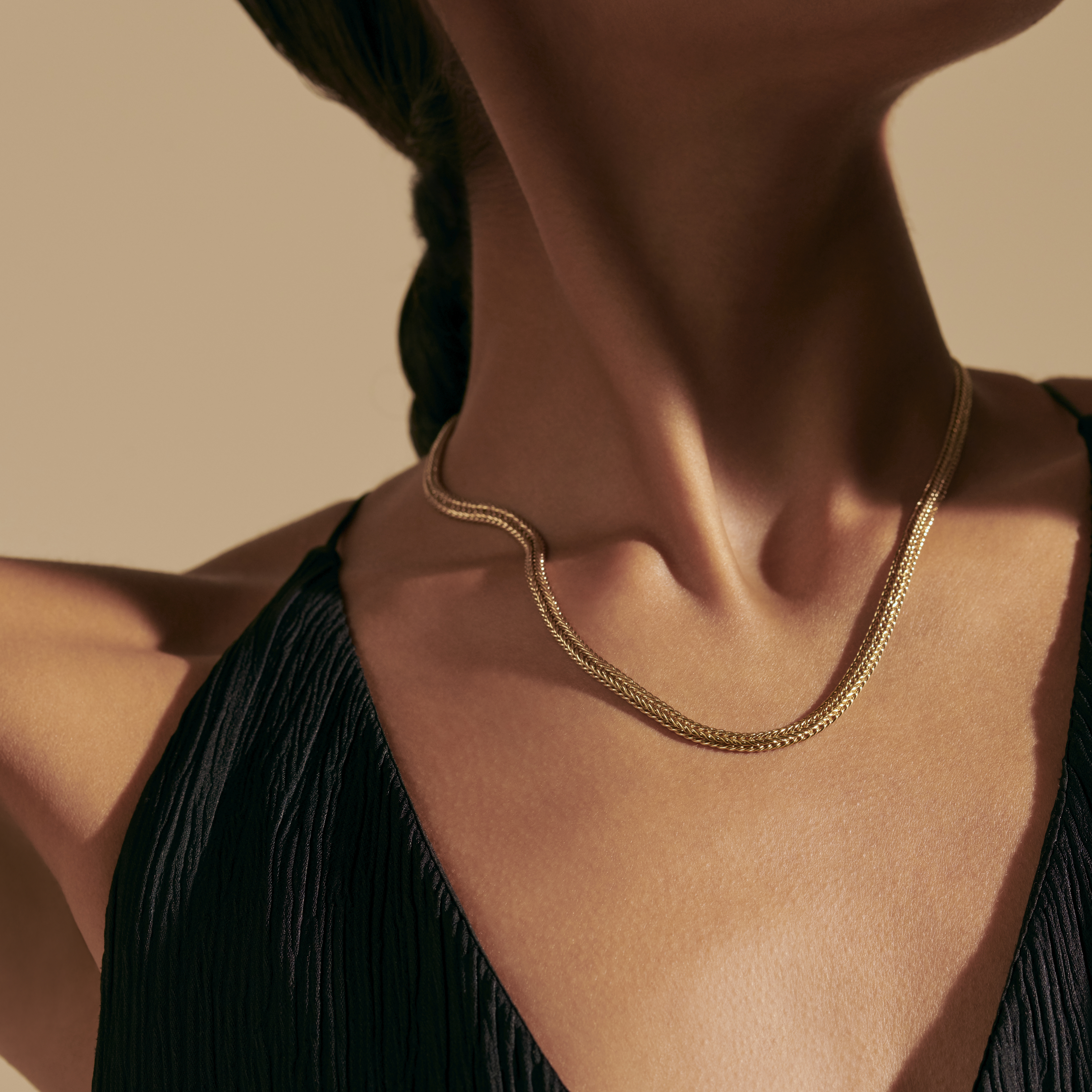 Kami Chain Necklace, , modelview