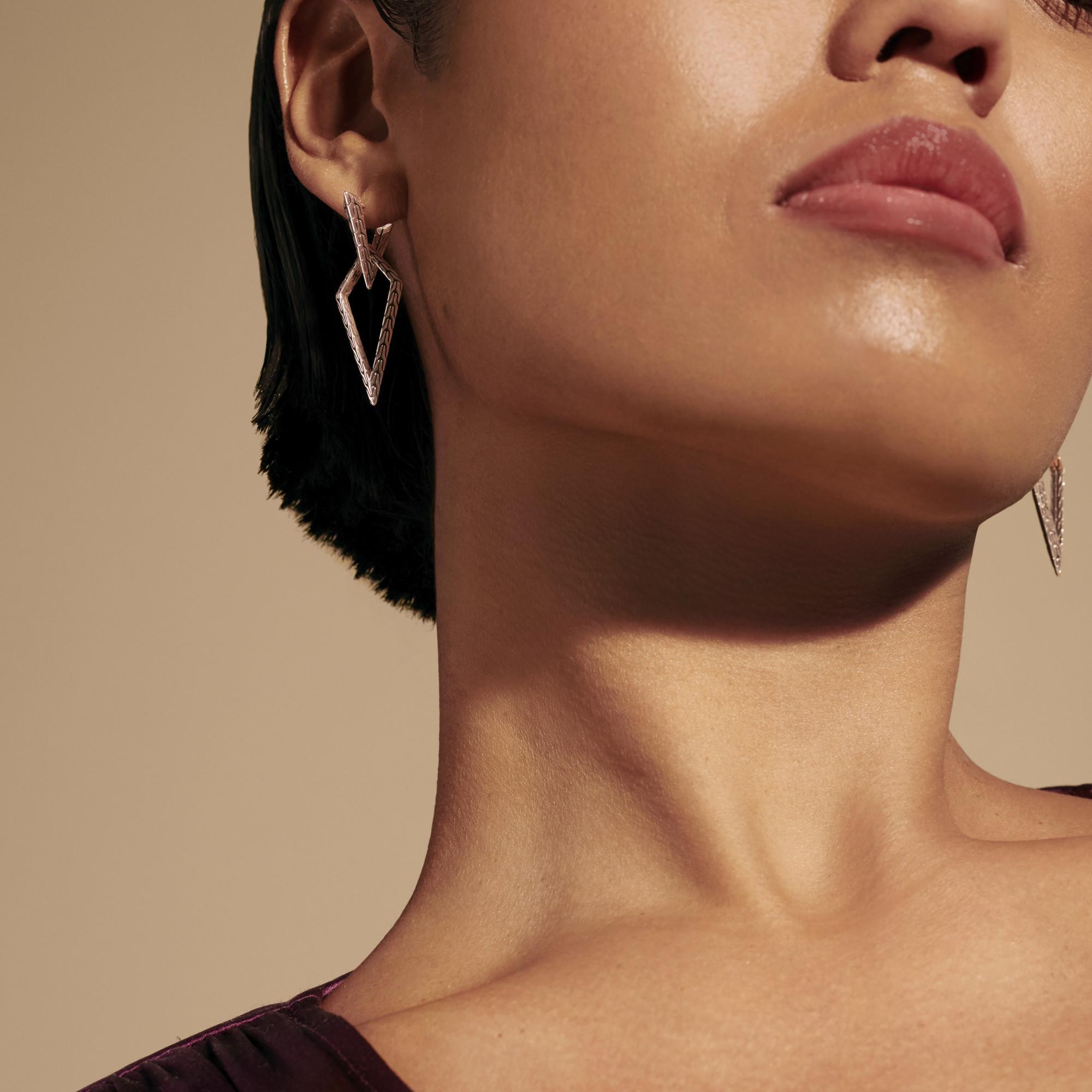Tiga Transformable Drop Earring, , modelview